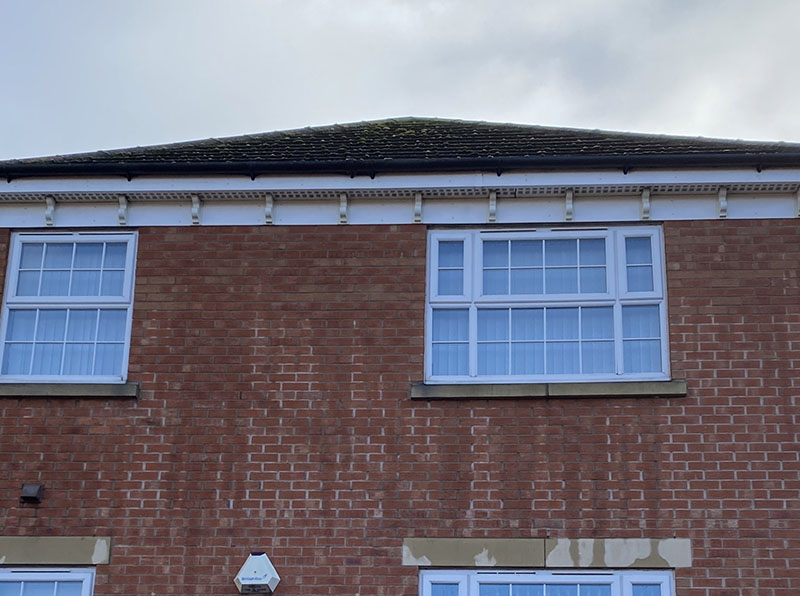 Soffit Cleaning - Leicester