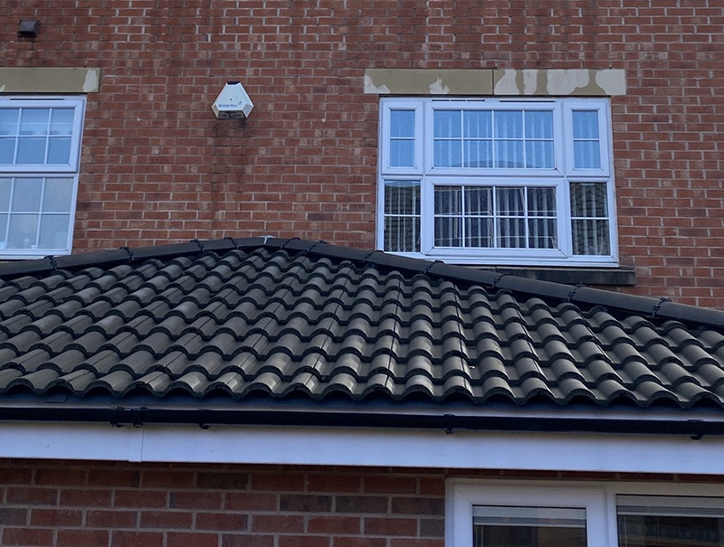 Lower Roof and gutters cleaned